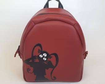 Triclops Girl Backpack