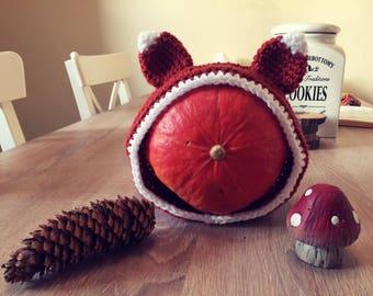 Fox Headband, kids headband with fox ears, toddler fox headband, fox costume, woodland