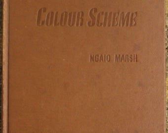 Colour Scheme | Ngaio Marsh (1943, Little, Brown and Company)