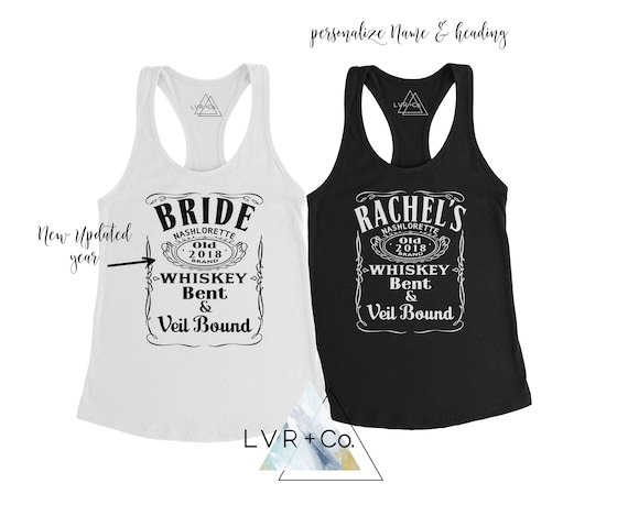 Whiskey BRIDE Shirt Country Bride Bridesmaid