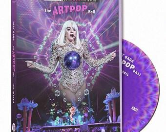 Lady Gaga ArtRave ArtPop Ball Tour Live in Paris, Pro DVD, Joanne