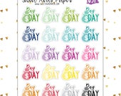 Pay Day Stickers | Money Stickers | Multicolor Stickers | Post Office Stickers | Pay Day Tracker | Icon Stickers | 651