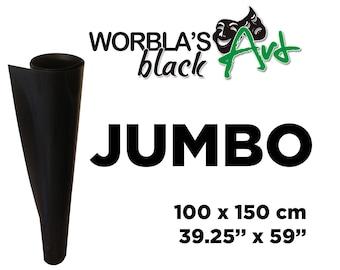 Worbla Black Art JUMBO SHEET - Thermoplastic Crafting Material Cosplay