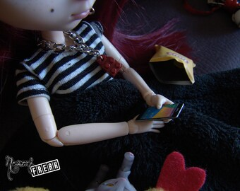 Re ment-Doll Prop-miniature mobile for Pullip or Blythe