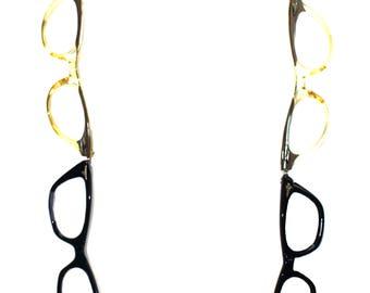 Vintage 1950s/1960s Eyeglasses Frames Necklace (e2-28)