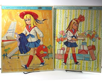 Vintage Charmin' Chatty Cathy Doll Frame-Tray Puzzle by Whitman 1963