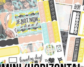 Fitspo Mini/Horizontal Kit - Planner Stickers