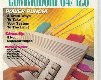 Compute!'s Gazette Magazine November 1989 Very Good