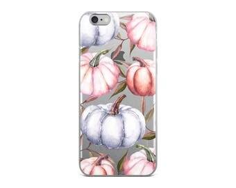 Pumpkins Clear iPhone 7 Case Autumn iPhone 6s Case Transparent iPhone 6 Case iPhone x case iPhone 8 Case iPhone 6 Plus Case