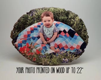 Fathers Day Gift, Fathers Day from Daughter, Gift for Dad, Fathers Day from Son, Gift for Him, Fathers Day Photo, Gift Men, Wood Photo