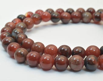Natural Agate Gemstone Beads Round Beads 7mm Natural Stones Beads Healing chakra stones Jewelry Making Item# 789222065652