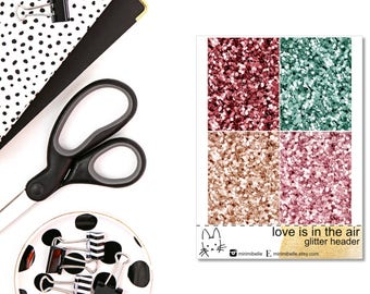 Love Is In The Air - ADD-ON Glitter - for your ECLP