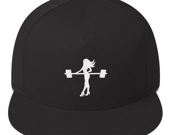 Girls who Lift, Women Lifting Hat, Women's Workout, Fitness Hat, Cool Gym Hats, Snap Back Hats, Embroidered Crossfit Cap, Dainty Gym Hat