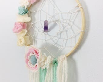 Boho Dream Catcher - Personalised Dream Catcher - Girls Bedroom Decor