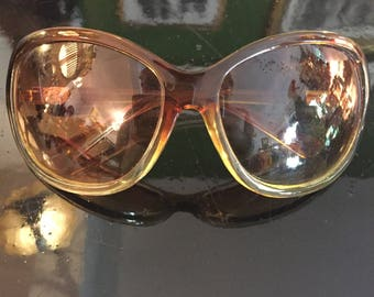 1960/70's ombre sunglasses