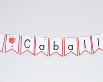 Personalized Teacher Banner