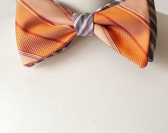 Self-Tie Double Sided Bow Tie, Bow Ties, Mens Bowties, Wedding bow tie, bow tie for men, mens tie