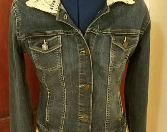 Up-cycled Jean Jacket