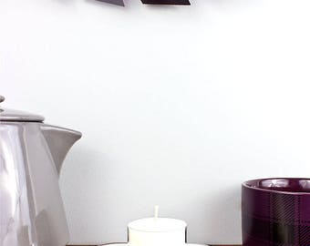BLACK SEA Soy Tealights Set of Six Tealights, Scented Tealights, Scented Soy Tealights, Masculine Tealights, Masculine Candle