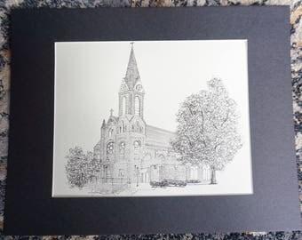 Custom Venue Drawing