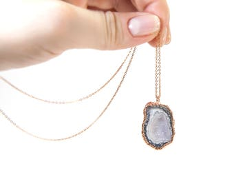 Amethyst Stone Necklace Gift Amethyst Necklace Amethyst Gift For Her February Birthstone Amethyst Jewelry Amethyst Pendant Gemstone Necklace
