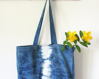 Indigo bag Tie dye blue bag Gift for her Bestsellers Cross body bag Best Friend gift Birthday gifts Shibori handbags INDI015