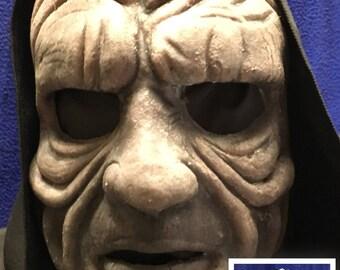 Demon with hood, Silicone Mask