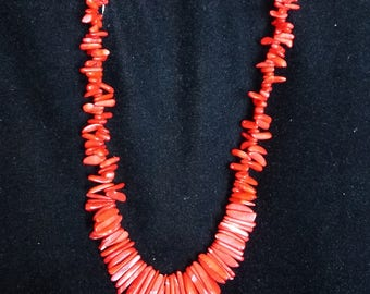 Gorgeous Red Coral necklace