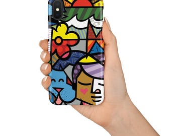 Abstract Colorful iPhone 8 Case iPhone 8 Plus Case iPhone 7 7 Plus 6 6s Plus Case iPhone X Case SE case Samsung Galaxy S6 S7 S8 Case cover