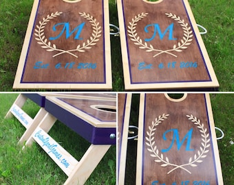 wedding cornhole boards wedding gift custom cornhole boards toys and games outdoor