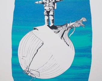 Onionaut – #3 Standing on an Onion