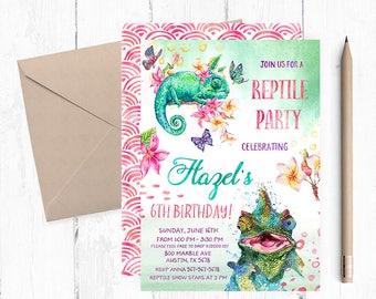 Reptile Invitation, Reptile Invitations, Reptile Invites, Reptile Invite, Reptile Birthday Party, Reptile Birthday Invitations, themed,
