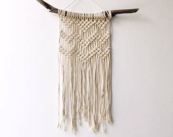 Natural Cotton Macrame Wall Hanging