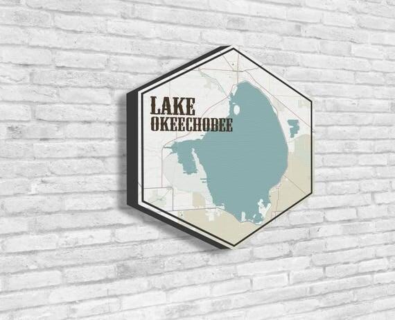 Lake Okeechobee Lake Okeechobee Art Lakes of America