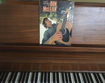 The Songs of Don McLean 1972 Sheet Music Book Song Book Music Book American Pie Vincent Piano Book Guitar Music Sheet Music
