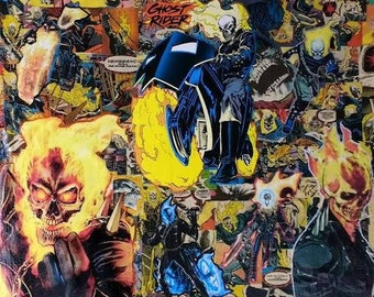 Ghost Rider Comic Art Epic