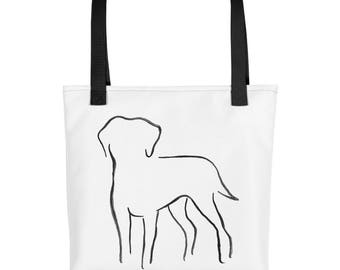 Labrador Tote Bag, Market Bag, Library Tote Bag, Dog Tote, Labrador Gift, Dog Lover Gift, Dog Tote, Pet Tote Bag, Dog Print Bag, Caryall