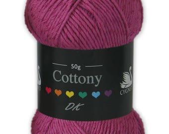 cygnet cotton DK yarn