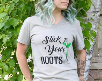 Adult Vegan Vegetarian Graphic Tee - Farmers Market Tee - Farmers Market Plant Shirt - Womens Graphic Tees - Mens Graphic Tees - Hippie Tee
