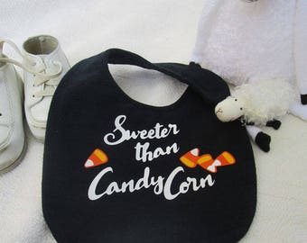 Sweeter Than Candy Corn, Digital Download SVG Cut File, Vinyl Cutting Design,  2 Tshirt or Bib Design Options