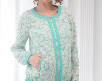 Mint & Turquoise Jacket