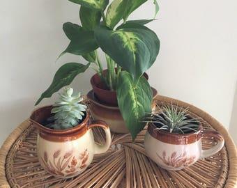Vintage Stoneware Set of 3