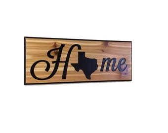 Texas decor Texas art Texas wall art Texas sign Texas wall decor Texas gift Home decor Texas home decor