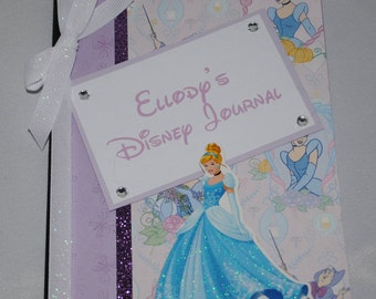 Cinderella Personalized Medium Altered Composition Disney Journal