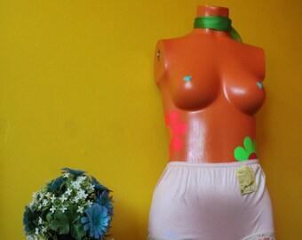 Vintage Deadstock 1960's High waisted Undies Underwear Panties Lingerie