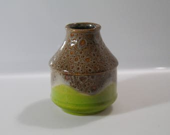 Funky Dümler & Breiden vase , 18 12,  West German Pottery, WGP, Fat Lava