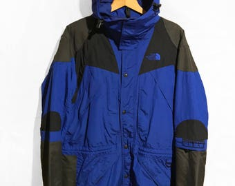 Vintage 90s The North Face 3-in-1 EXTREME LIGHT Jacket  Blue/Black/Gray SIZE M