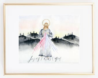Jesus I trust you/ Divine Mercy