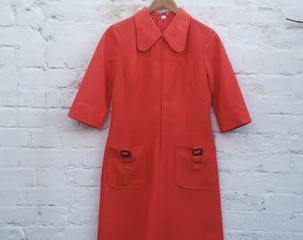 60s Zipper Dress