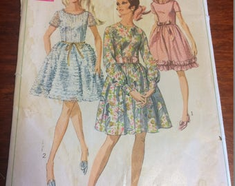 Vintage Ladies Pattern, Simplicity # 7945, Ladies Dress ,size 12,year 1968, Home and Living, Sewing and Crafts, Sewing supplies,